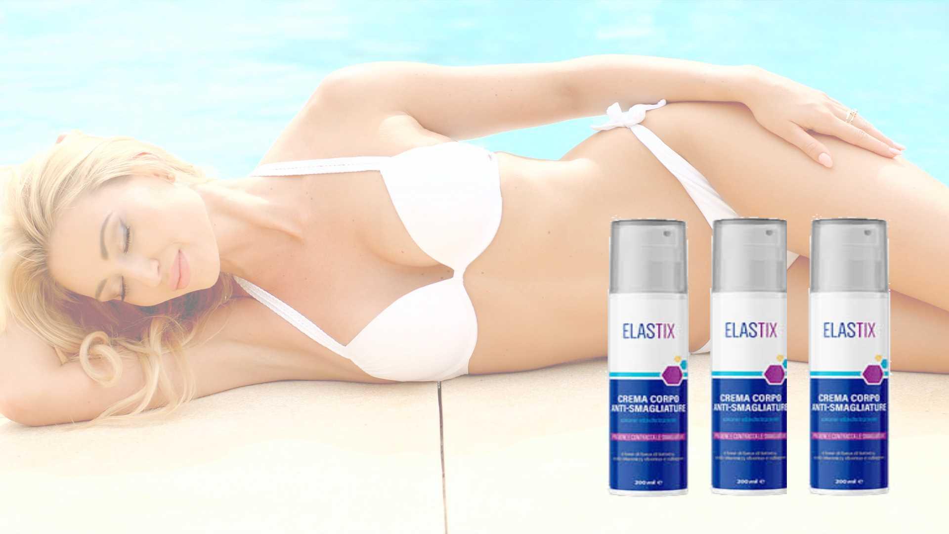 Smagliature addio con Elastix crema corpo