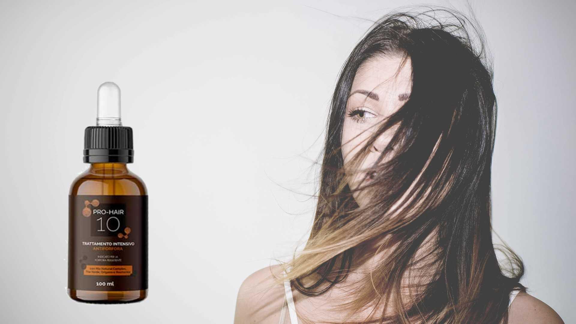 Pro Hair 10 lozione antiforfora: efficacia e igiene per i tuoi capelli